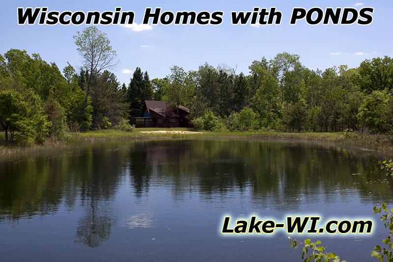 Wisconsin Home Ponds for Sale