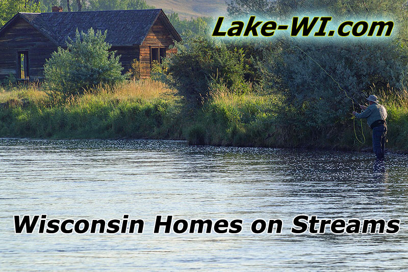 Wisconsin Riverfront Homes for Sale - River Cottages