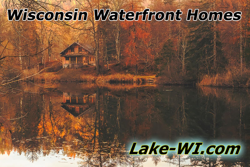 Wisconsin Waterfront Homes for Sale