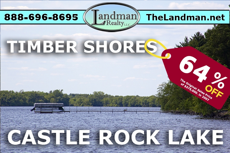 Castle Rock Flowage Lot for Sale