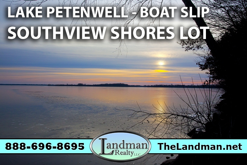 Petenwell Deeded Access Land for Sale with Boat Slip