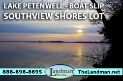 1873702, Petenwell Deeded Access Land for Sale with Boat Slip