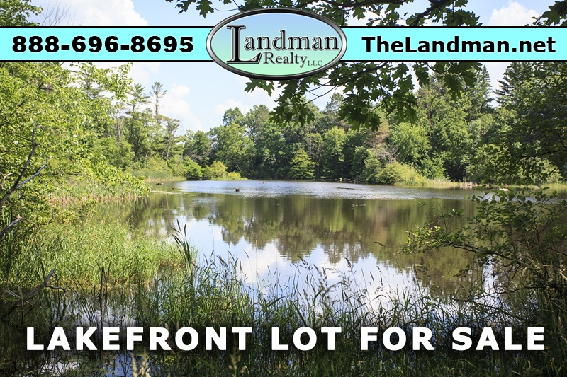 Friendship Lake Frontage Lot for Sale