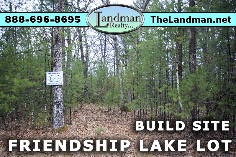 Friendship Lake Lot for Sale