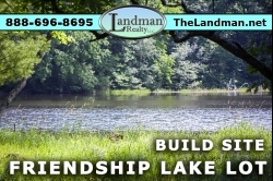 1881312, Friendship Lakefront Lot for Sale
