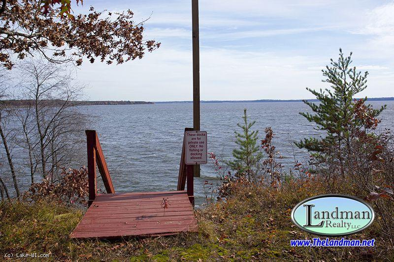 1817341 - Lakefront on 2nd Largest Inland Lake in WI!